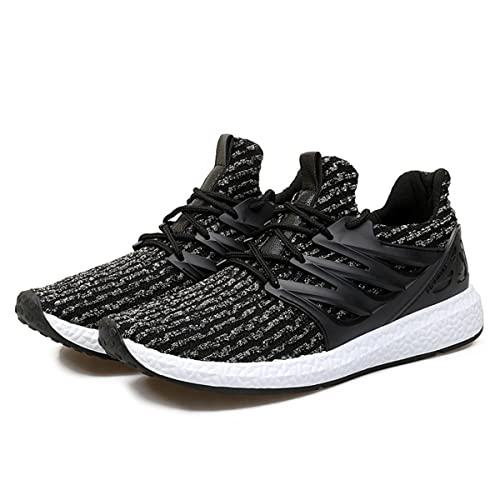 1bce786d8870 gracosy Mens Running Shoes Lightweight Trainers Gym Walking Fitness Running  Sneakers Sports Shoes Outdoor Athletic Casual Fashion Anti-Slip Lace Up ...