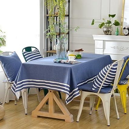 Yazi estilo mediterráneo Mantel Runner y bufanda, diseño de Se puede lavar a máquina.