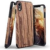 iPhone Xr ケース ベルク iPhoneXr 6.1インチ ナチュラルウッド ハードケース/ローズウッド