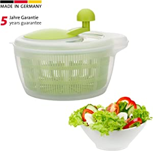 Westmark Germany Vegetable and Salad Spinner with Pouring Spout (Green/Clear)