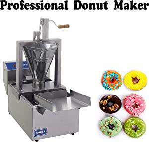 Compact Donut Fryer Maker Machine 80 Pc/h + Tank (220V)