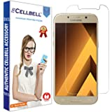 CELLBELL® Samsung Galaxy A5 (2017) Tempered Glass Screen Protector with Free Installation Kit