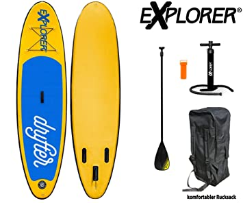 Explorer Sup Drifter 290 x 75 x 10 cm Inflatable ISUP hinchable de aluminio Remo Stand Up Paddle Board Set Bomba Tabla de Surf Aqua Remo Set: Amazon.es: ...
