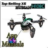 HUBSAN X4 H107C y TOP SELLING X6
