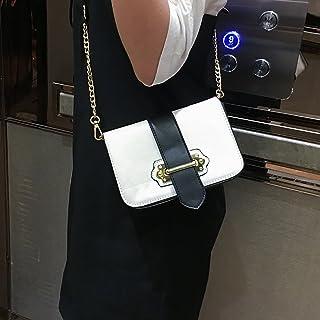 YTTY Femmes avec Boucle Chaîne Petit Sac Carré Épaule Messenger Bag Forfait Mode