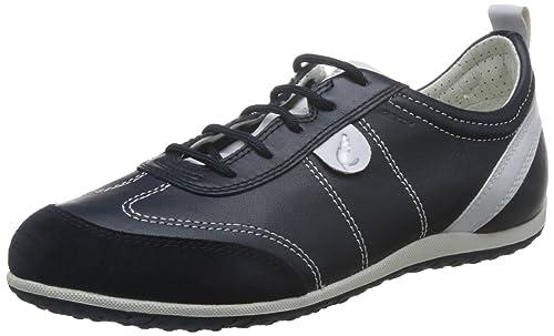 Geox Damen D Vega A Sneakers