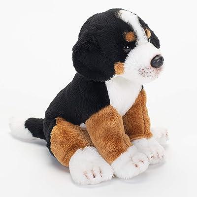 DEMDACO Bernese Mountain Dog Children's Plush Beanbag Stuffed Animal Toy : Baby