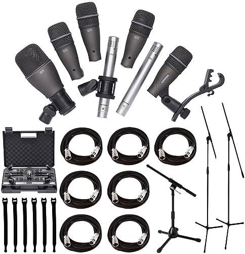Samson: DK707 7-Piece Drum Microphone Kit