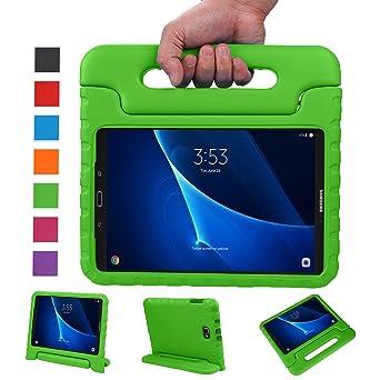 BELLESTYLE Samsung Galaxy Tab A 10.1 Zoll EVA Stoßfeste Schutzhülle Tragbar für Kinder mit Ständer Schutzhülle Standfunktion