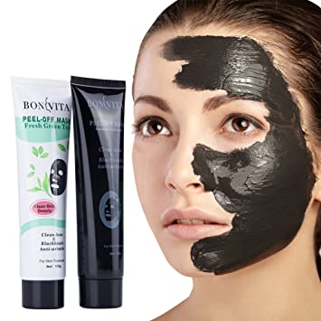 BONVITA Bamboo Charcoal Peel Off Mask