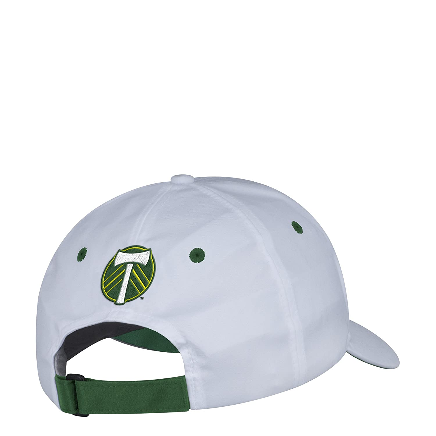 Amazon.com : adidas MLS Portland Timbers Mens White Wordmark Structured Adjustable Hat, One Size, White : Sports & Outdoors