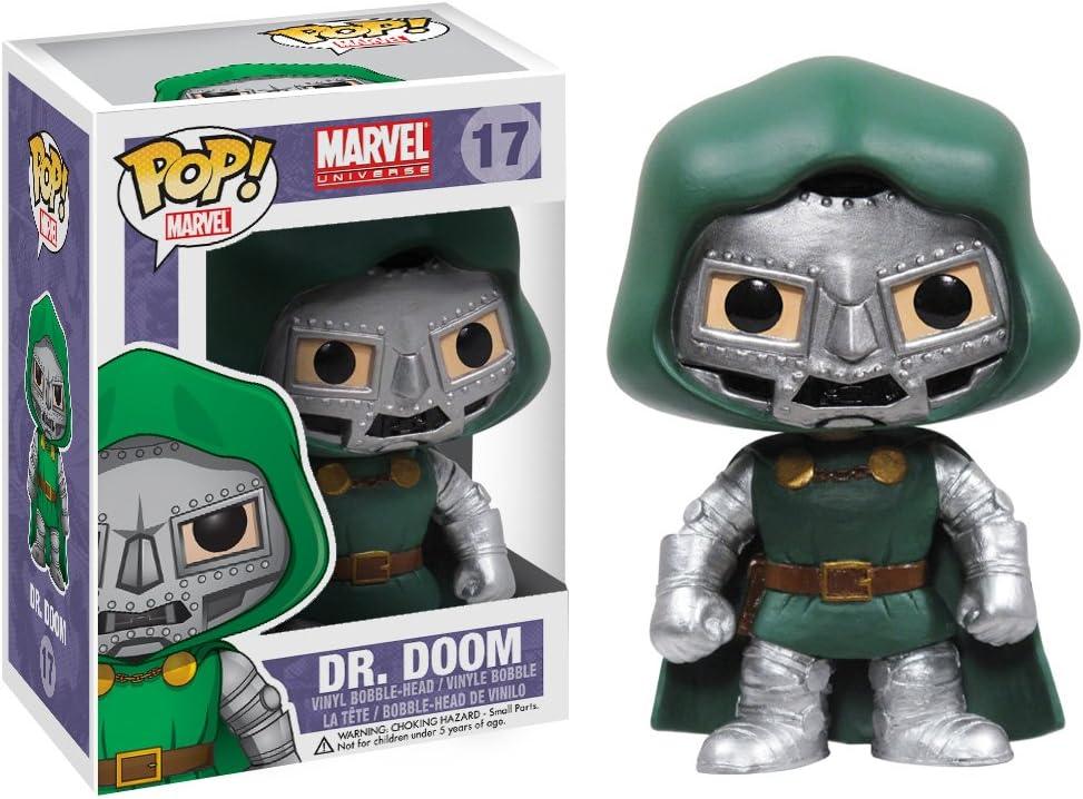 Funko POP Marvel Bobble Figurine Dr Doom: Amazon.es: Juguetes y juegos