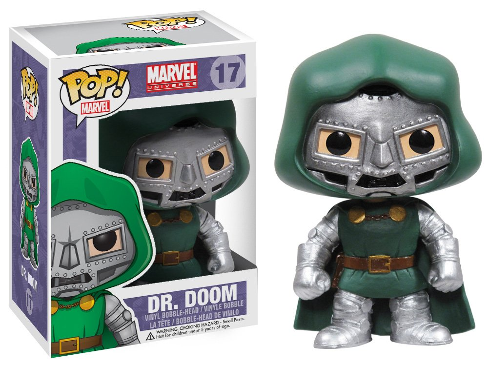 Funko POP Marvel Bobble Figurine Dr Doom