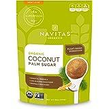 Navitas Organics Coconut Palm Sugar, 16 oz. Bag — Organic, Non-GMO, Gluten-Free, Sustainable