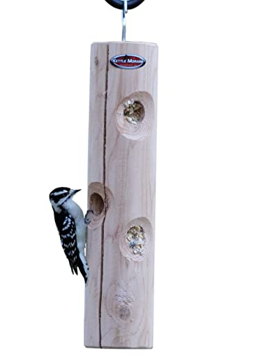 Kettle Moraine Cedar Suet Plug Log Feeder