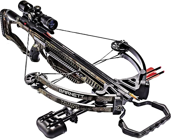 Best Crossbows :  Barnett 78128 Whitetail Hunter II 350 FPS Crossbow