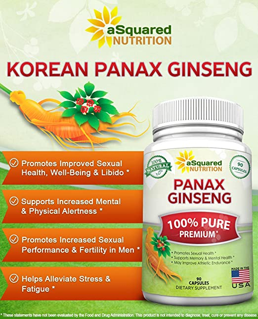 Good earth panax ginseng extractum sex