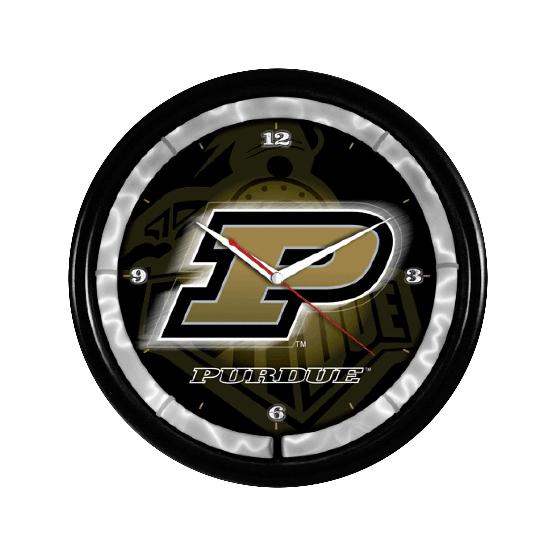 Authentic Street Signs NCAA College Team Plasma Clock (Purdue Boilermakers) by Authentic Street Signs