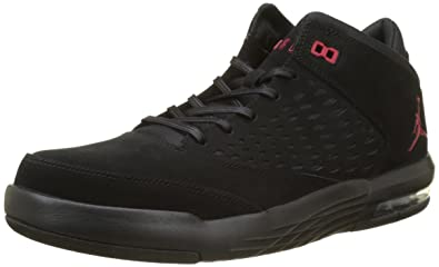 Nike Jordan Flight Orgin 4, Chaussures de Basketball Homme, Noir (Black/Gym Red 002), 46 EU