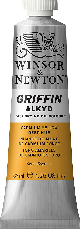 Winsor & Newton Griffin Alkyd Peinture, Jaune de Cadmium Fonce Imitation 1914115