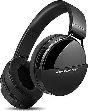 Beexcellent Q7 Auriculares Bluetooth de Diadema, Cascos Bluetooth Inalámbrico, 40hrs de Duración de la Batería, Controlador Doble de 40 mm para Usar en Tableta, Movil, TV Inteligente con Bluetooth: Amazon.es: Electrónica