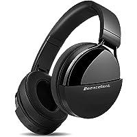 Auriculares Bluetooth de Diadema, Cascos Bluetooth Inalámbrico, 40hrs de Duración de la Batería, Controlador Doble de 40…