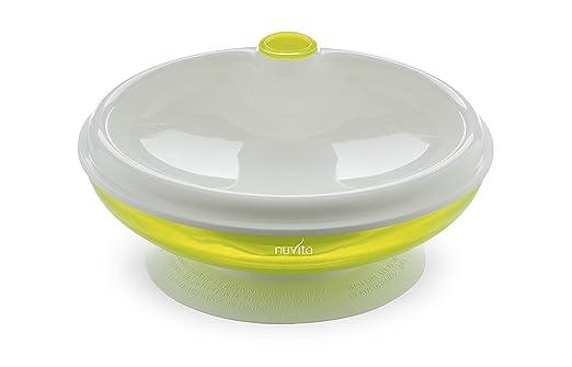 57 opinioni per Nuvita NU-PPPL0027 1427 Piattocaldo con Ventosa, Verde