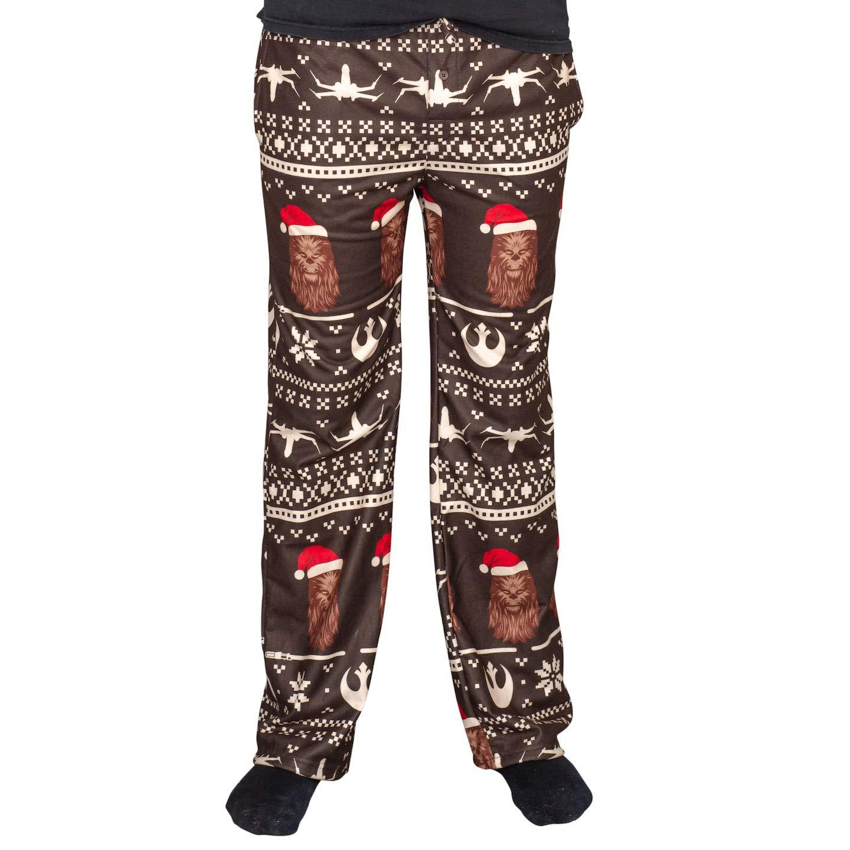 Star Wars Chewbacca Christmas Brown Lounge Pants
