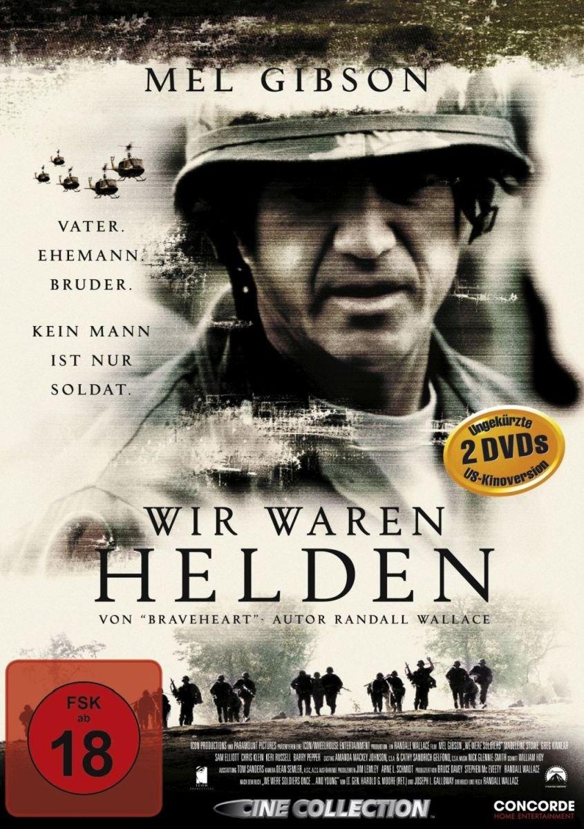Wir Waren Helden Fsk 18 2 Dvds Amazonde Mel Gibson Madeleine