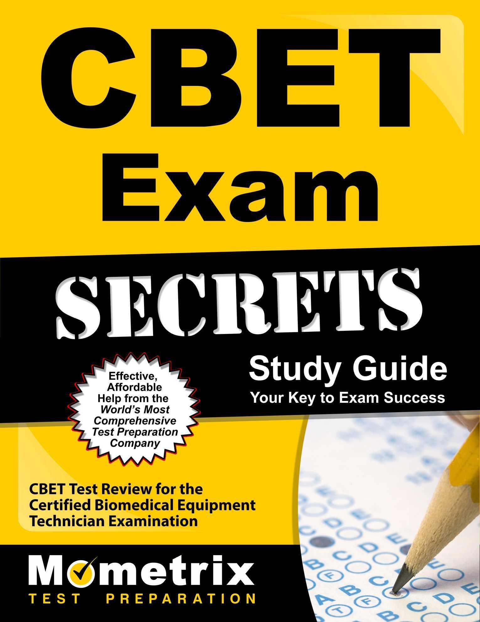 Buy Cbet Exam Secrets Cbet Test Review For The Certified Biomedical