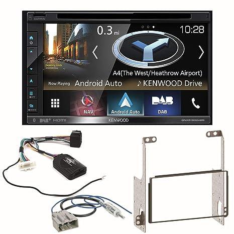 Kenwood DNX-5180DABS - Navegador GPS con Bluetooth Dab+ y Radio Digital para Coche (