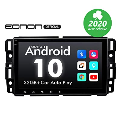Car Stereo Double Din Car Stereo, Android Head Unit Android 10 Eonon Car Stereo for Chevy/Chevrolet Silverado 8 Inch Car Radio Support Split Screen, Android Auto Built-in Apple Carplay/DSP -GA9480A: Electronics