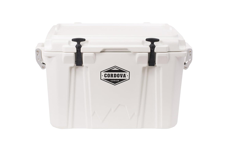Cordova 50 Medium Cooler - Hard Sided Rotomolded Ice Chest with 48 Quart Capacity & Built in Bottle Opener