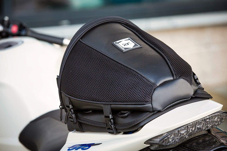 Seat Bag for Motorcycles /& Motorbikes Autokicker Hero Tail Pack