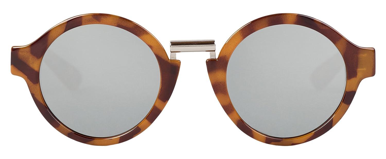 MR.BOHO, Leo tortoise hackney with silver lenses - Gafas De Sol unisex multicolor (carey), talla única