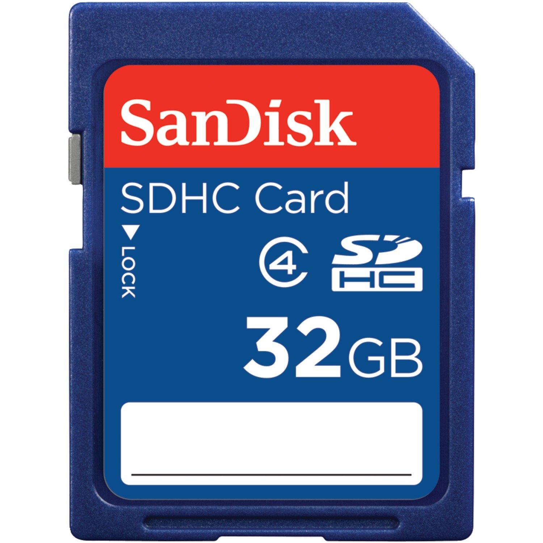 Secure Digital, 32GB, SDHC, Class 4