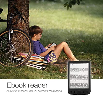 Lector de libros electrónicos de 6 pulgadas Pantalla de tinta ...