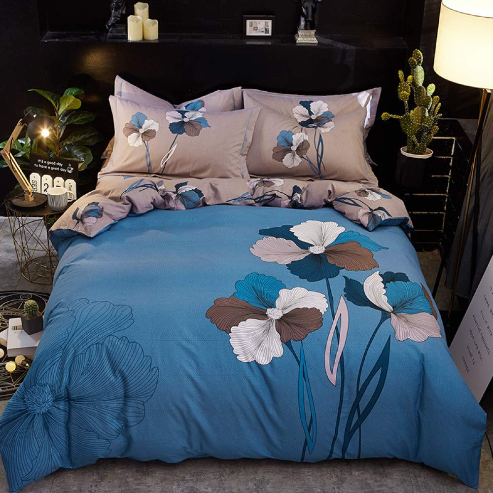 yaonuli Algodón Puro Lijado ecológico sábanas de algodón de ...