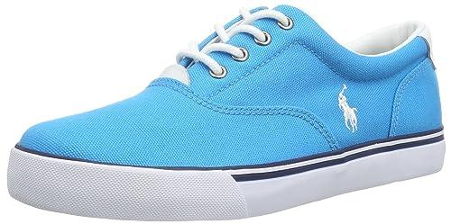 Polo Ralph Lauren Vaughn, Mocasines Unisex-Adulto, Azul (Blau (Hawaian Blue), 36 EU: Amazon.es: Zapatos y complementos