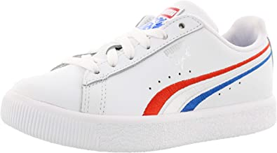 puma girls white shoes