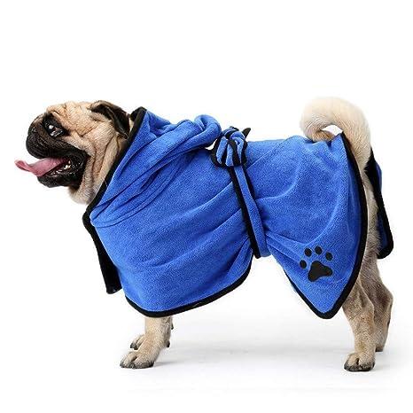 Toallas para Perro, Secado rápido de microfibra y Hidrófugo Toalla seca para baño Toalla Absorbente