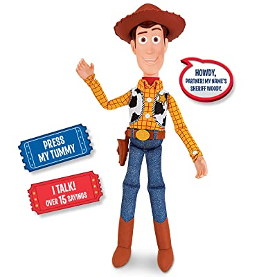 Toy Story Sheriff Woody Action Figure: Toys & Games
