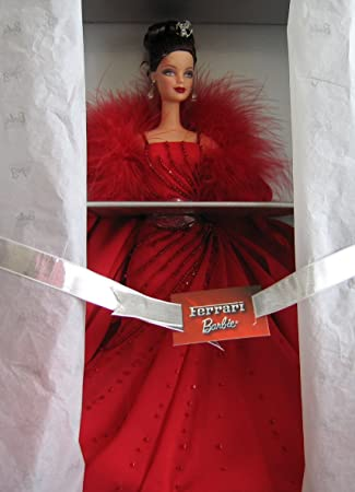 d61875ffd6f Buy Mattel Ferrari Barbie Doll In Red Gown Limited Edition (2000 ...