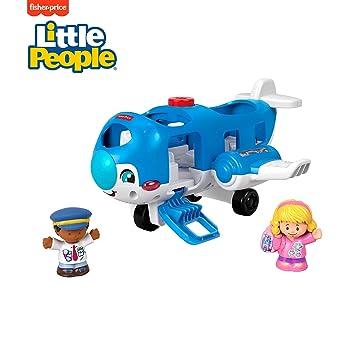 Amazon.com: Fisher-Price Little Avión de personas, Vehicle ...