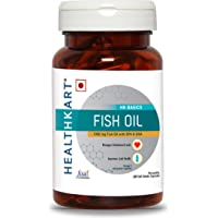 Healthkart Fish Oil (1000 Omega 3 , With 180 Mg Epa & 120 Mg Dha) 60 Softgels