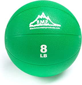Black Mountain Products Professional Exercise Medicine Ball, Green, 8 Lbs