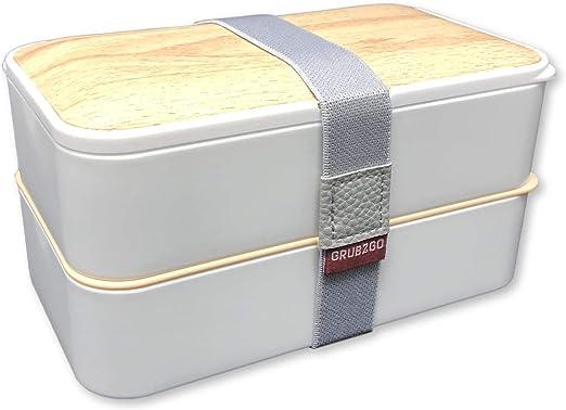 Amazon.com: La fiambrera original Bento Box de GRUB2GO ...
