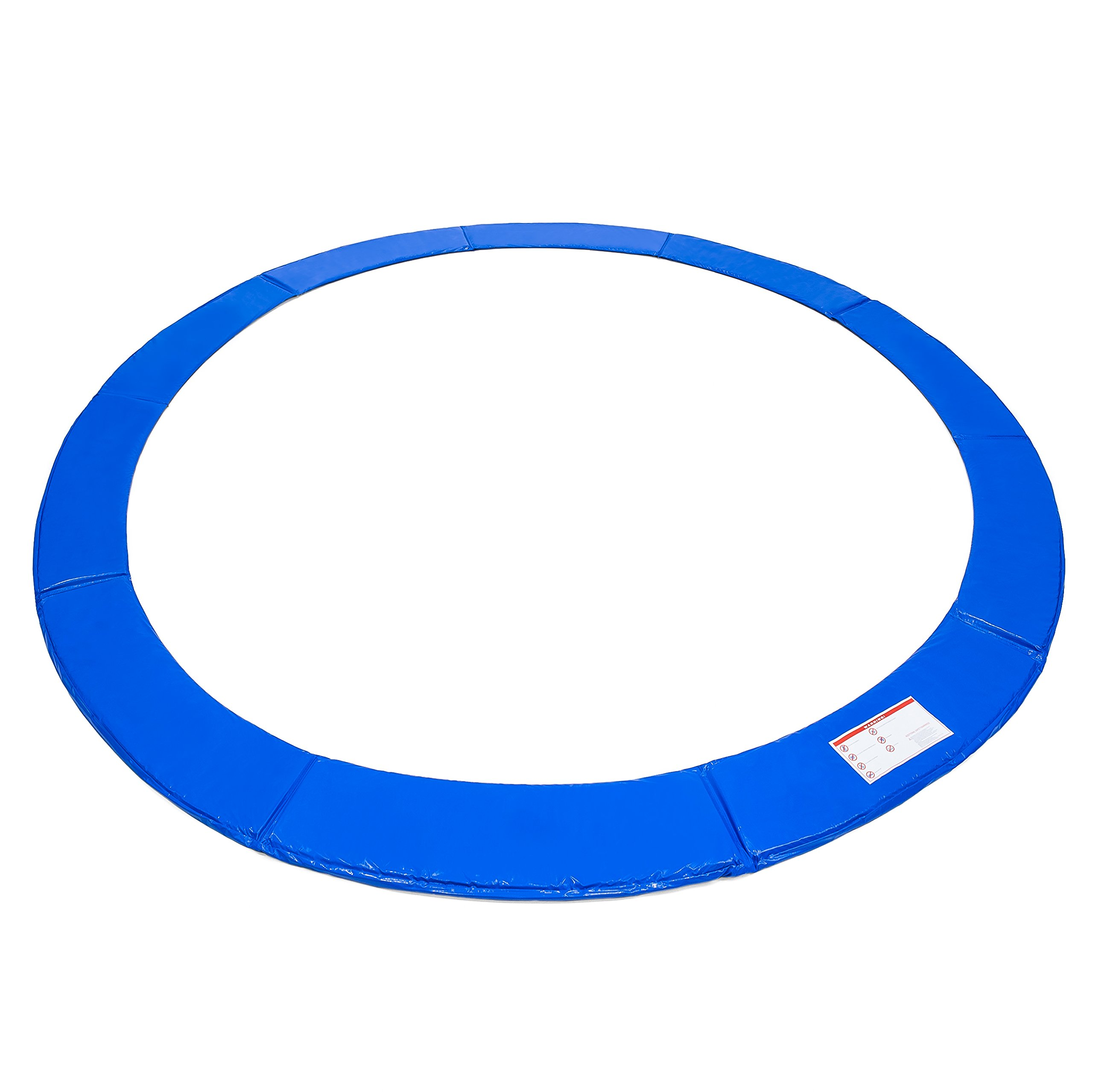 Best Choice Products 12ft Trampoline Safety Pad Spring Cover w/ 21mm Thick Foam Padding - Blue