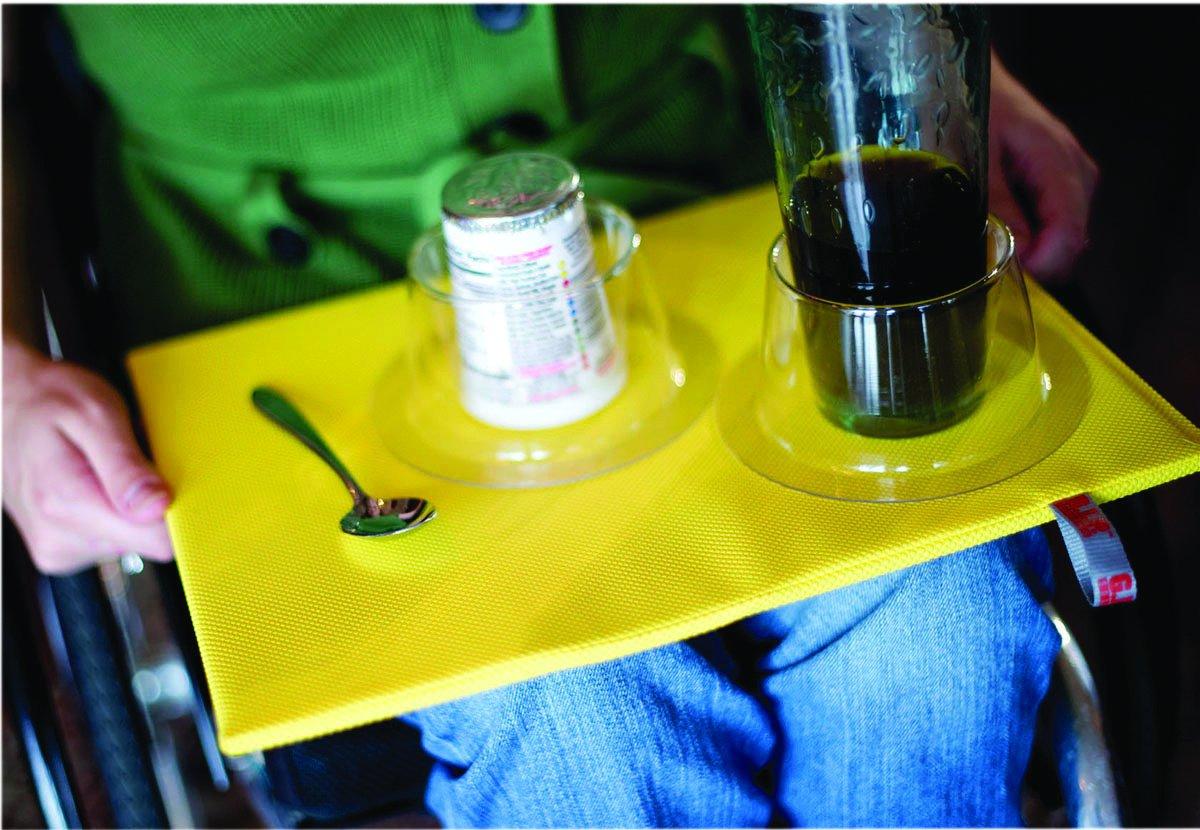 Grip Lap Board, 11'' X 14'' - Yellow - 1 Each / Each - 50-1750Y