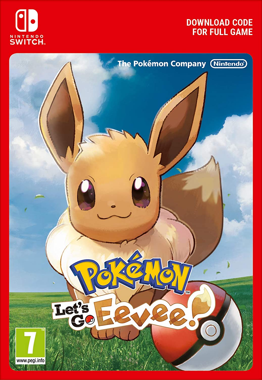 Pokémon: Let's Go, Eevee! | Switch - Download Code: Amazon